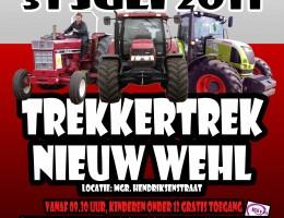 Poster Trekkertrek Nieuw Wehl 2011