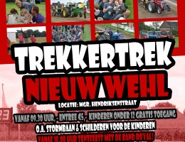 Trekkertrek Nieuw Wehl Poster 2012